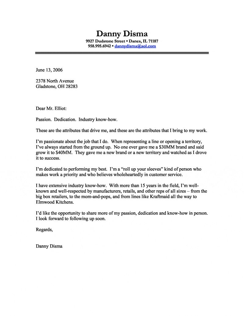 Cover Letter Template Business from i.pinimg.com