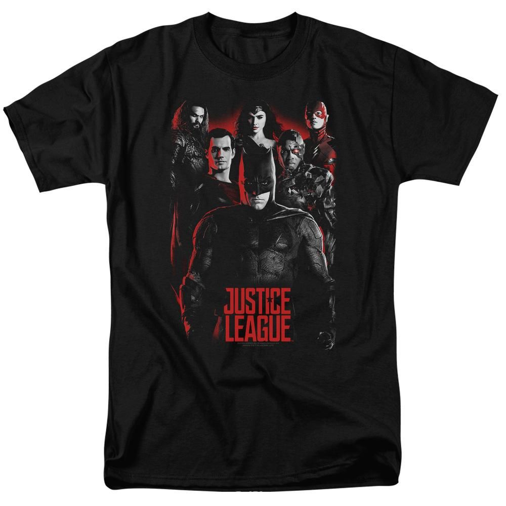 Justice League The League Men's Regular Fit TShirt