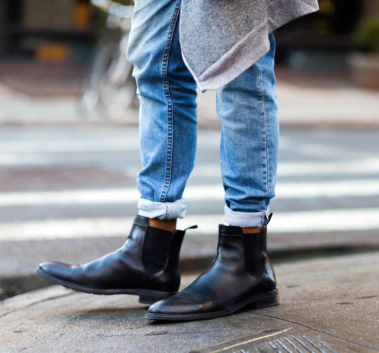 How to Cuff Your Jeans Like a Street Style Star (With images ...