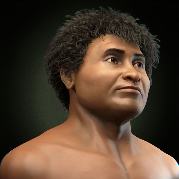 Amazing 3D face of 10,000-YEAR-OLD African caveman could