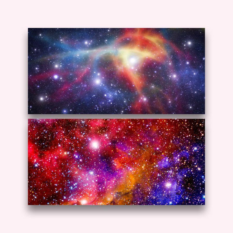 Earthbound trading company Galaxy Prints - 36x16