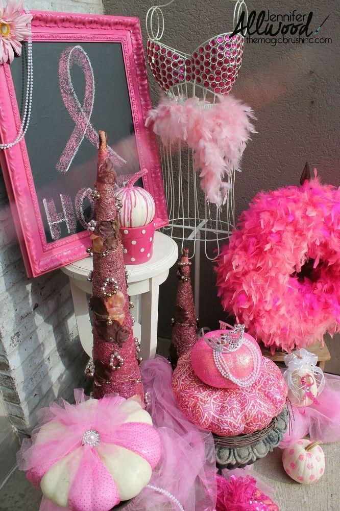 Pink Pumpkins Galore Interesting Things Breast Cancer Awareness