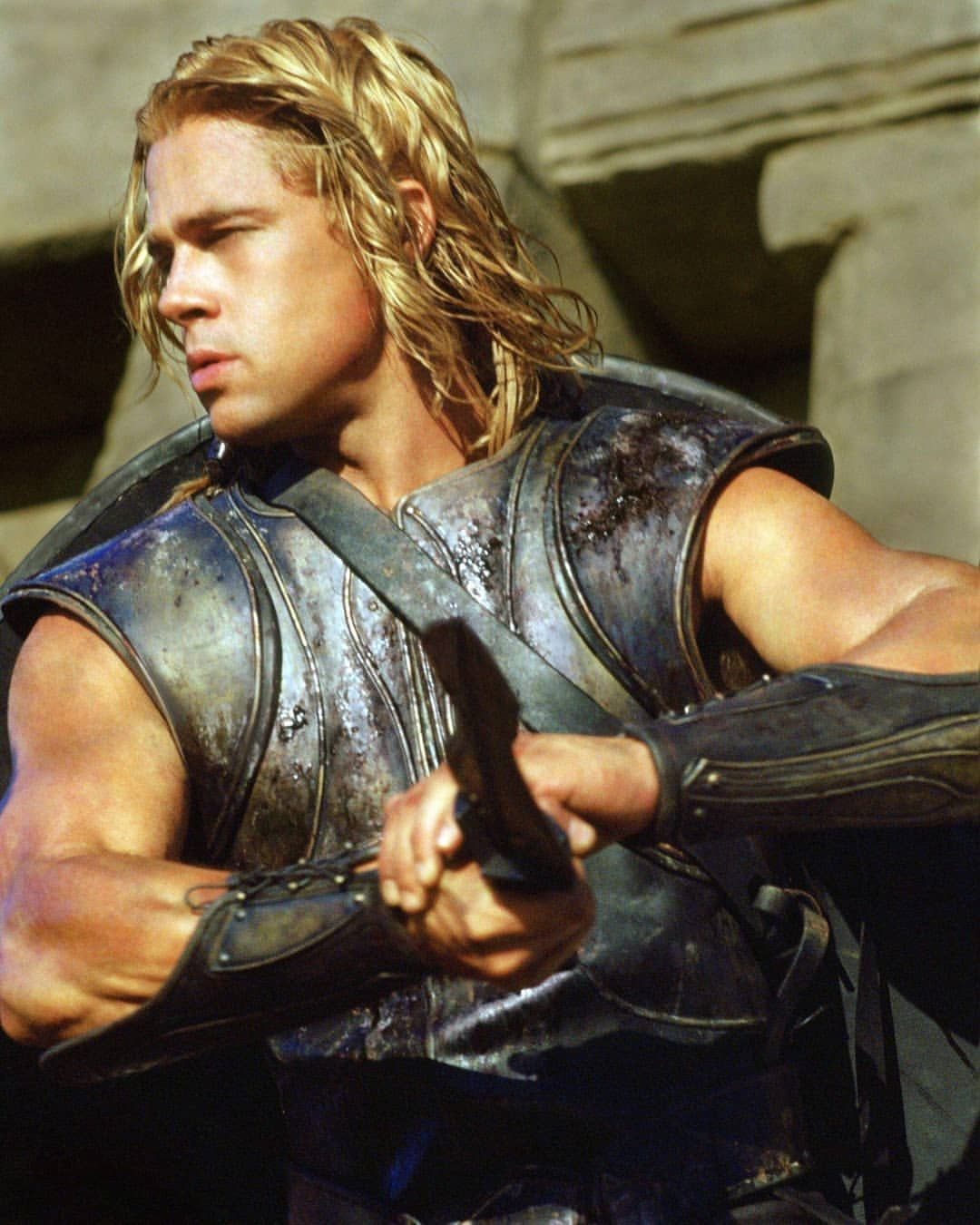 Brad Pitt Sur Instagram Tbt Troy 2004 Bradpitt Troy