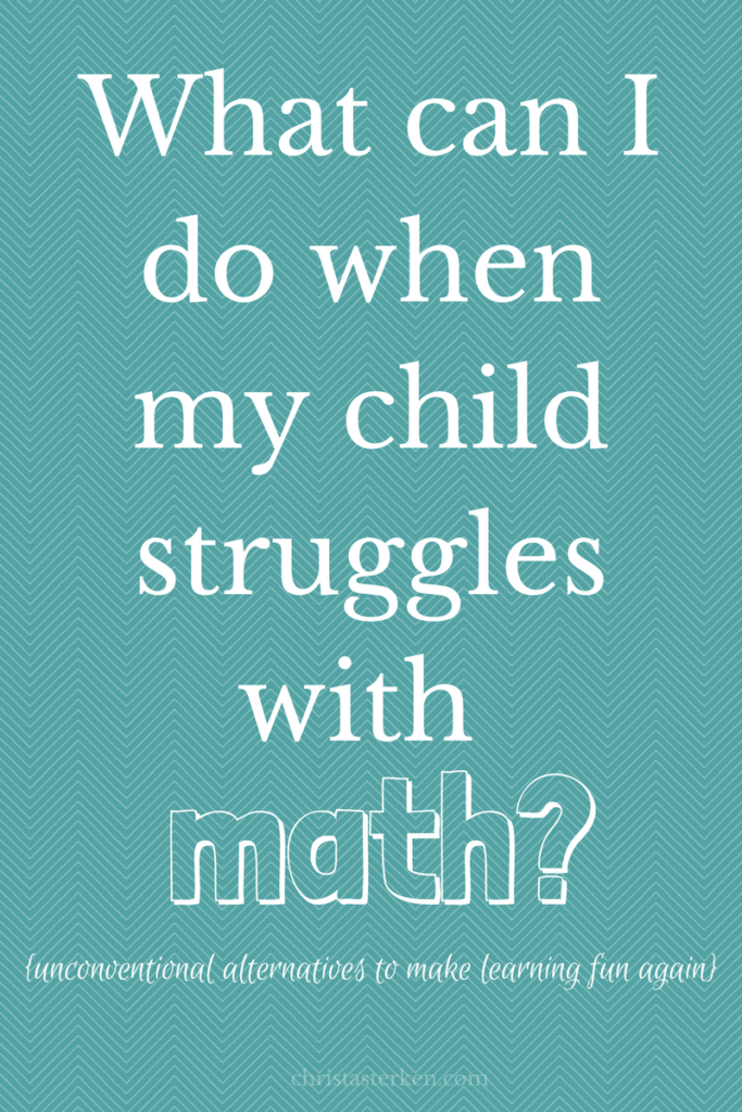 What can I do when my child struggles with math? | Math, Homeschool ...