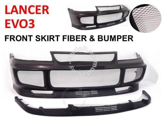 EVO3 OEM Front Bumper lancer gsr wira - Car Accessories & Parts ...
