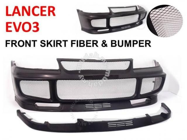 EVO3 OEM Front Bumper lancer gsr wira - Car Accessories & Parts for ...