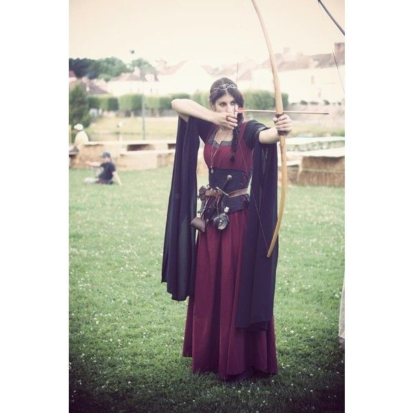 Things I Want On A LARP / #longbow #archer via Polyvore