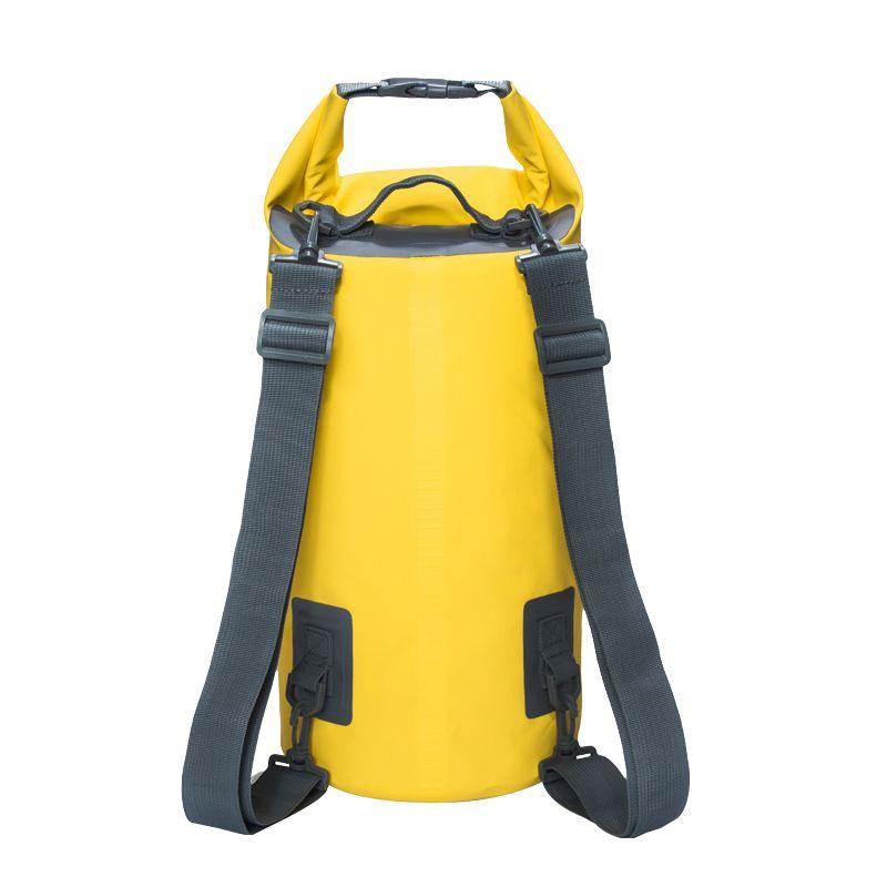 15L 20L Swimming Waterproof Bags Storage Dry Sack Bag For Canoe Kayak  Rafting Outdoor Sport Bags 8556c5ec63db4