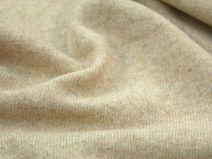 Woll-Strickstoff - beige