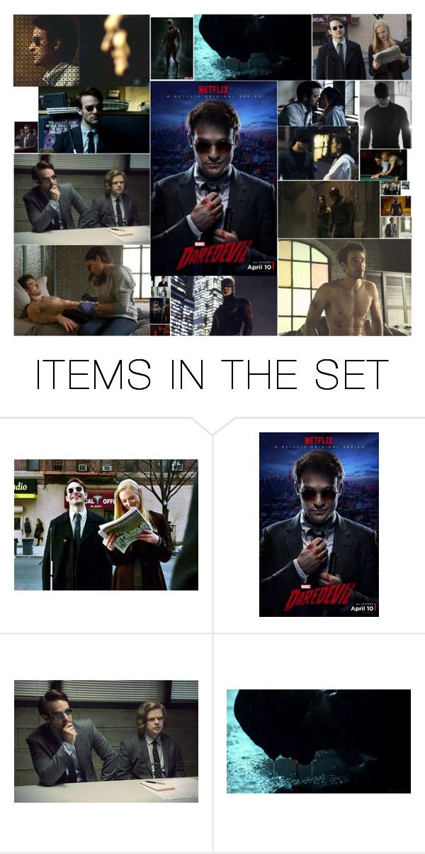 """""""daredevil"""" by dejahartzell ❤ liked on Polyvore featuring art"""