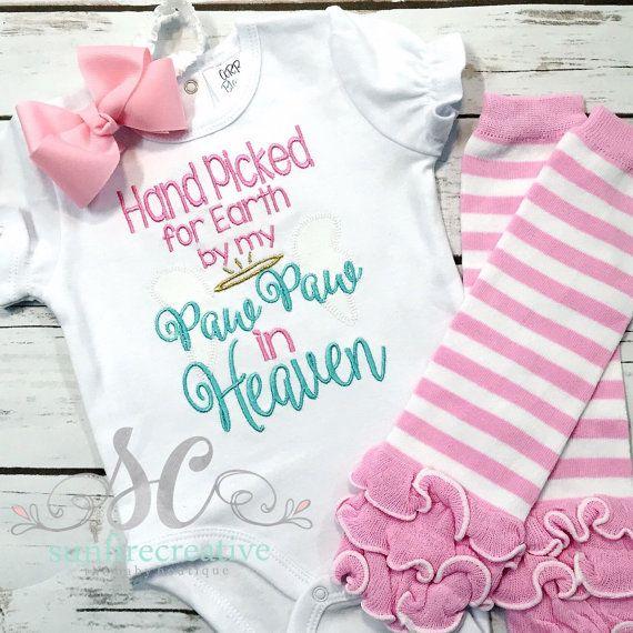 Memaw was here Kisses Bodysuit Baby  Baby Shower Gift Nursery Custom Clothing Infant {K14}