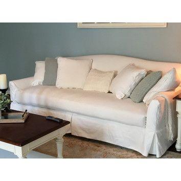 Birch Lane Fairchild Slipcovered Sofa Reviews Wayfair Favorite