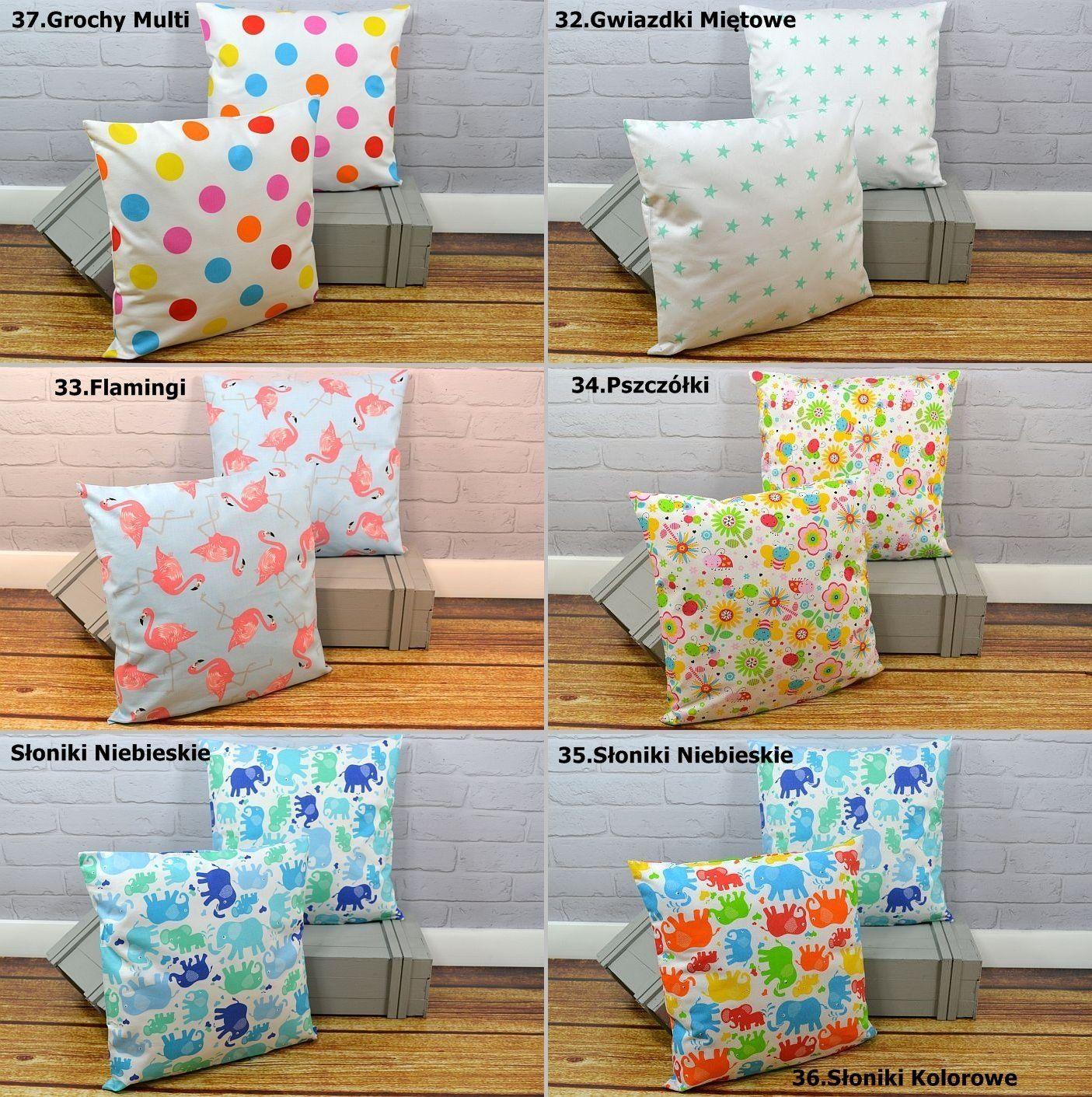 Kup Teraz Na Allegro Pl Za 5 47 Zl Poszewka Na Poduszke 40x40 100 Bawelna Duzy Wybor 6887601657 Allegro Pl Radosc Zakupow I B Throw Pillows Pillows Bed