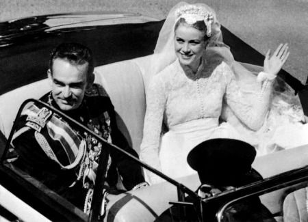 Rainer III, Prince of Monaco and Grace Kelly:    Prince Rainer, better known as the wealthiest bachelor in the world and Grace Kelly, the breathtaking beauty of Hollywood, tied the knot two times: first on April 18, 1956 in civil wedding and second on April 19, in a religious ceremony. Attended by notable figures and watched by over 30 million people on television, this royal wedding was defined as the 'Wedding of the Century' by the mainstream media.