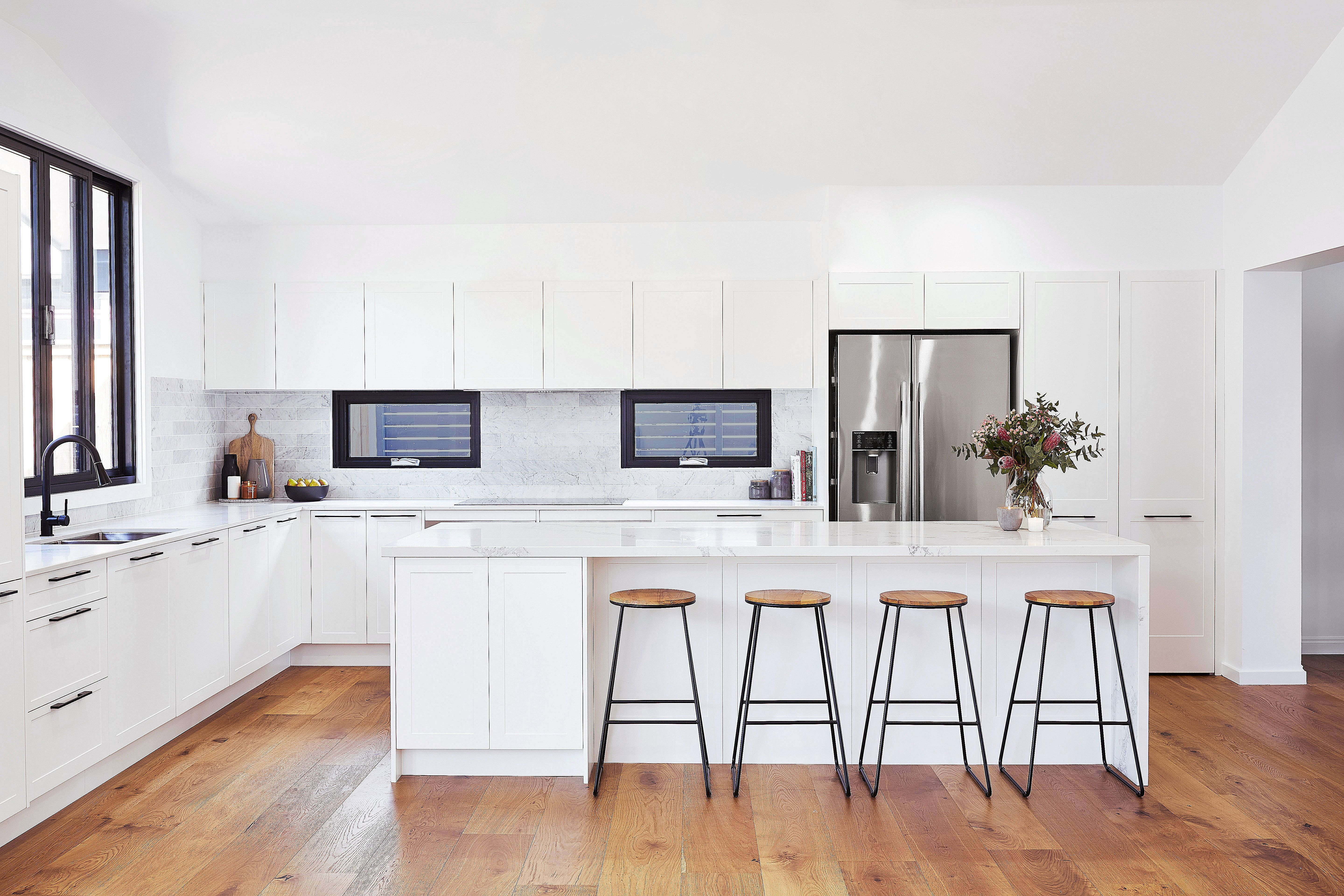 New Light Kitchen Floors With White Cabinets Light Kitchen Floor Top Kitchen Cabinets Kitchen Flooring