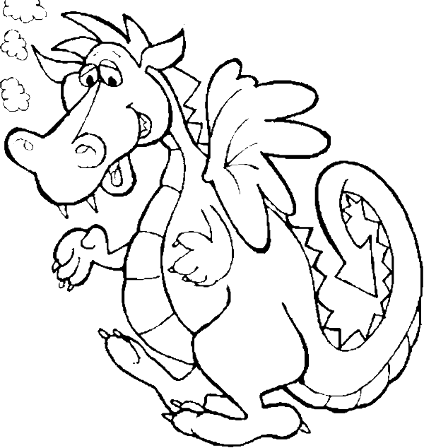 cute dragon coloring pages dragon coloring pages kidsdrawing free coloring christmas. Black Bedroom Furniture Sets. Home Design Ideas
