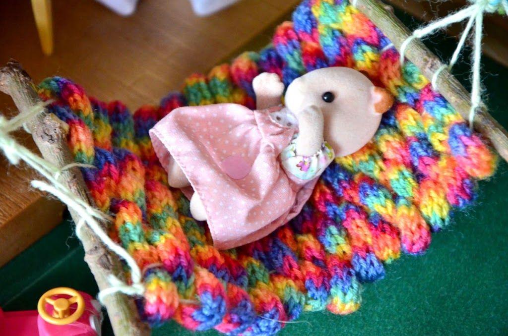 DIY: STRICKLIESEL-HÄNGEMATTE - Do It Yourself - Baby, Kind und Meer ...