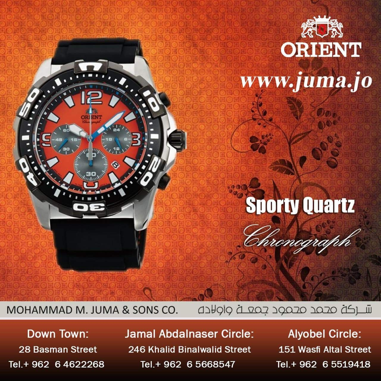 Check Out The New Arrival Of Orient Sporty Quartz Watch Orientwatch Orientwatches Wristwatch Chronograph Sport Quartz Orient Watch Quartz Quartz Watch