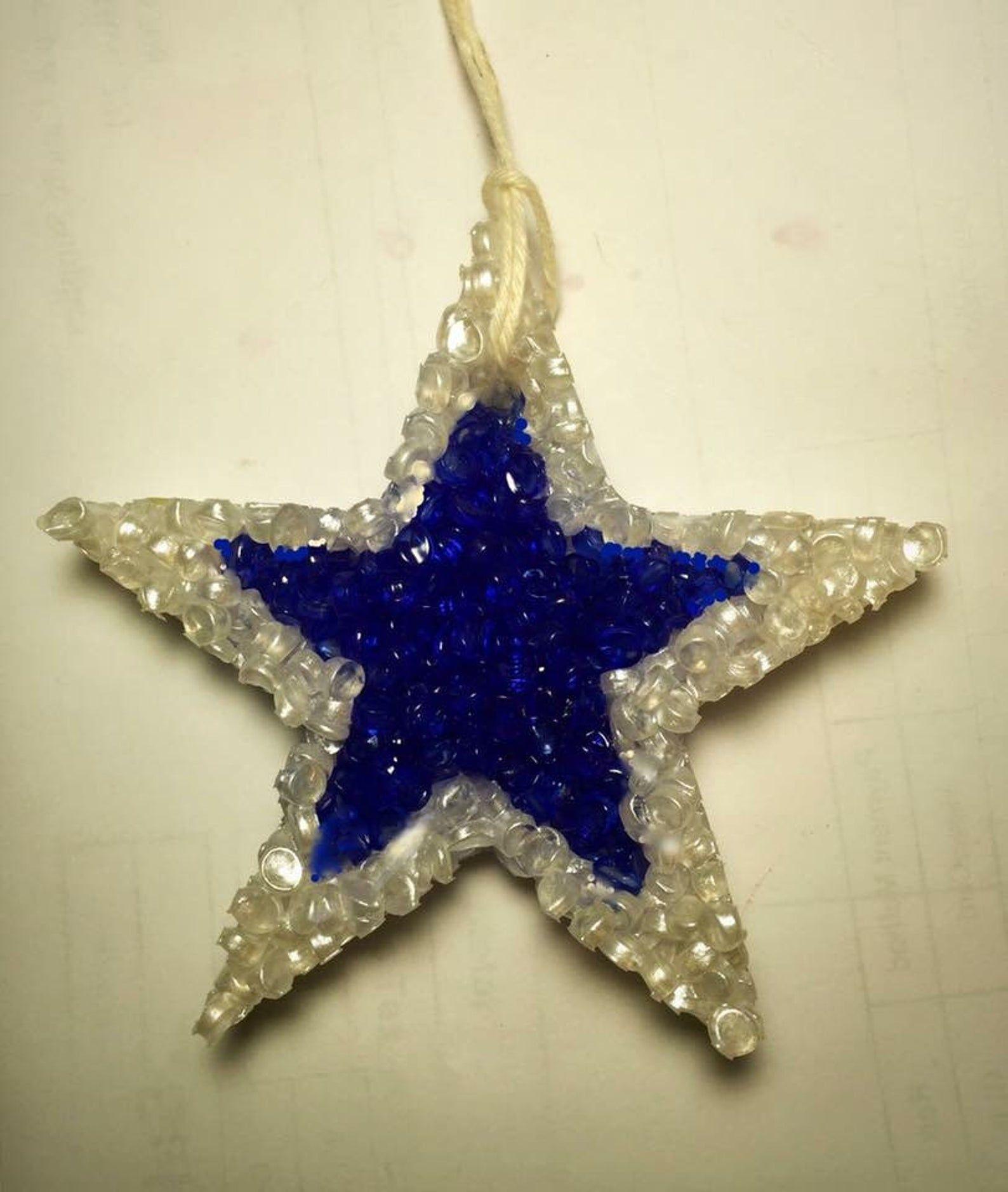 Cowboys Star Air Freshener, Aroma Beads, Ornies, Car Air