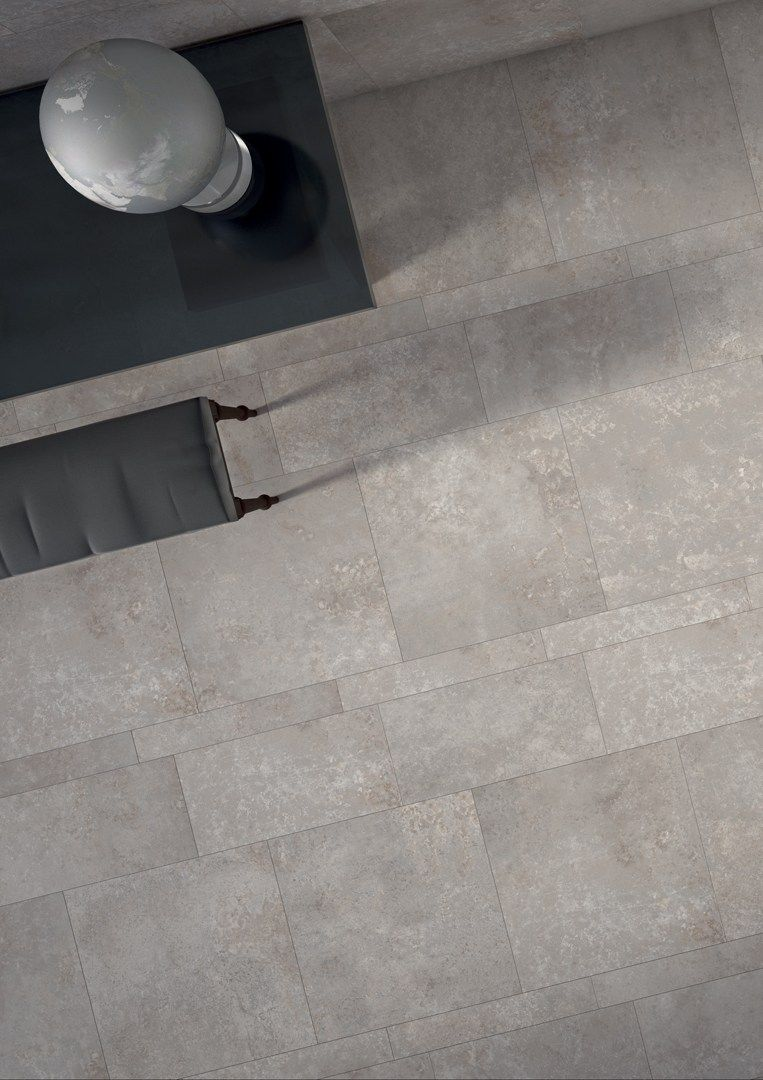 Ecological wall/floor #tiles with #concrete effect EDGE GREY by CERAMICHE  KEOPE @