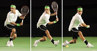 Understanding The Roger Federer Backhand Grip Roger Federer Tennis Pictures Tennis
