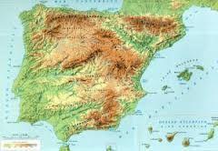 Mapa Picos De España.Mapas Interactivos Relieves Y Montes De Espana Mapa Fisico