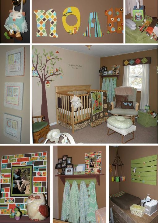 Noah S Owl Themed Nursery Babies Room And More Baby