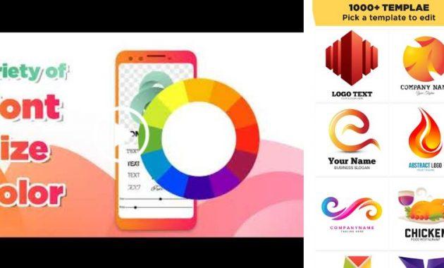 8 Aplikasi Pembuat Logo Di Smartphone Android 3d Logo Spanduk Desain Logo
