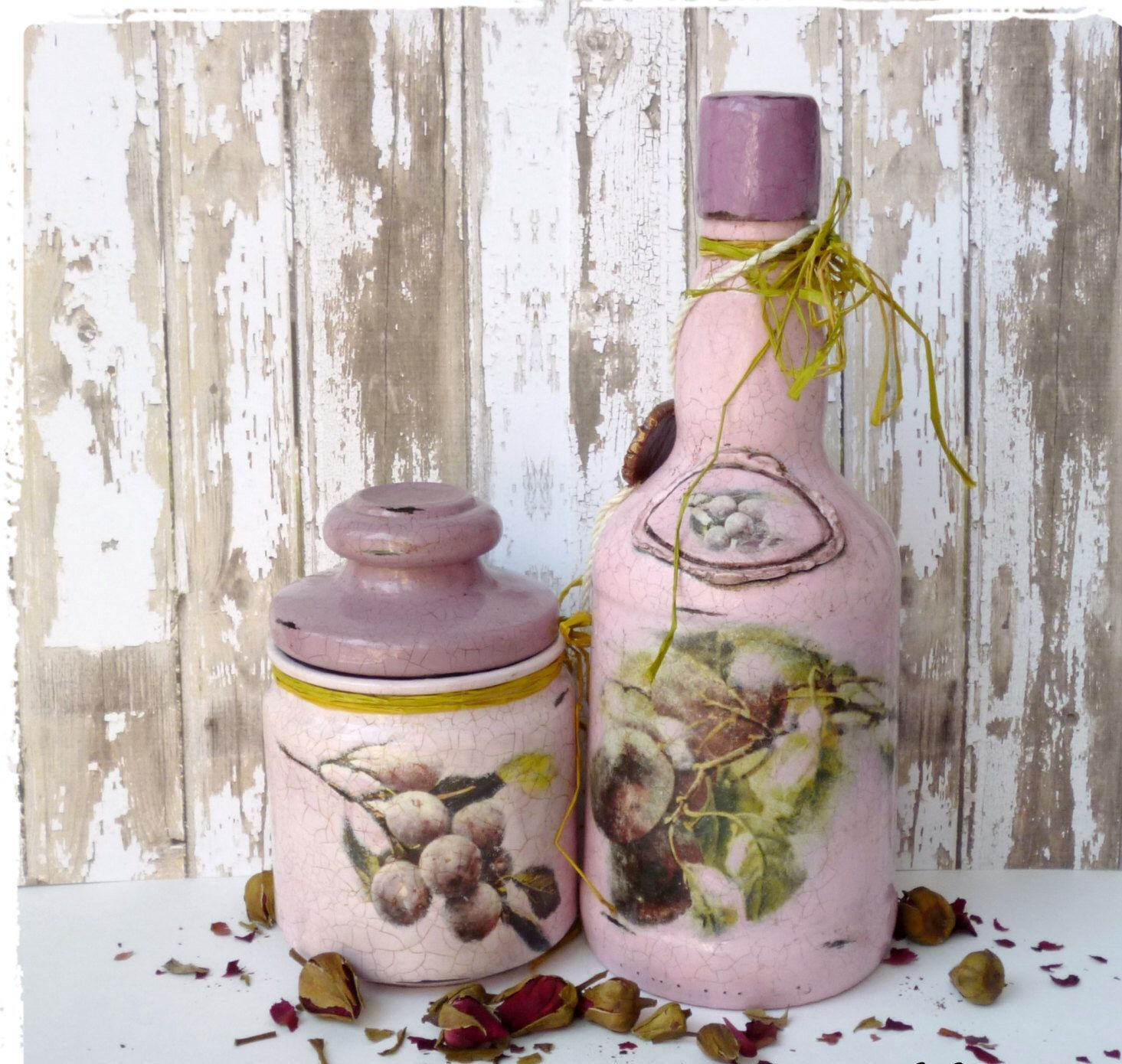 #Canister #Chic #Decor #Decorative #Fruit #Gift