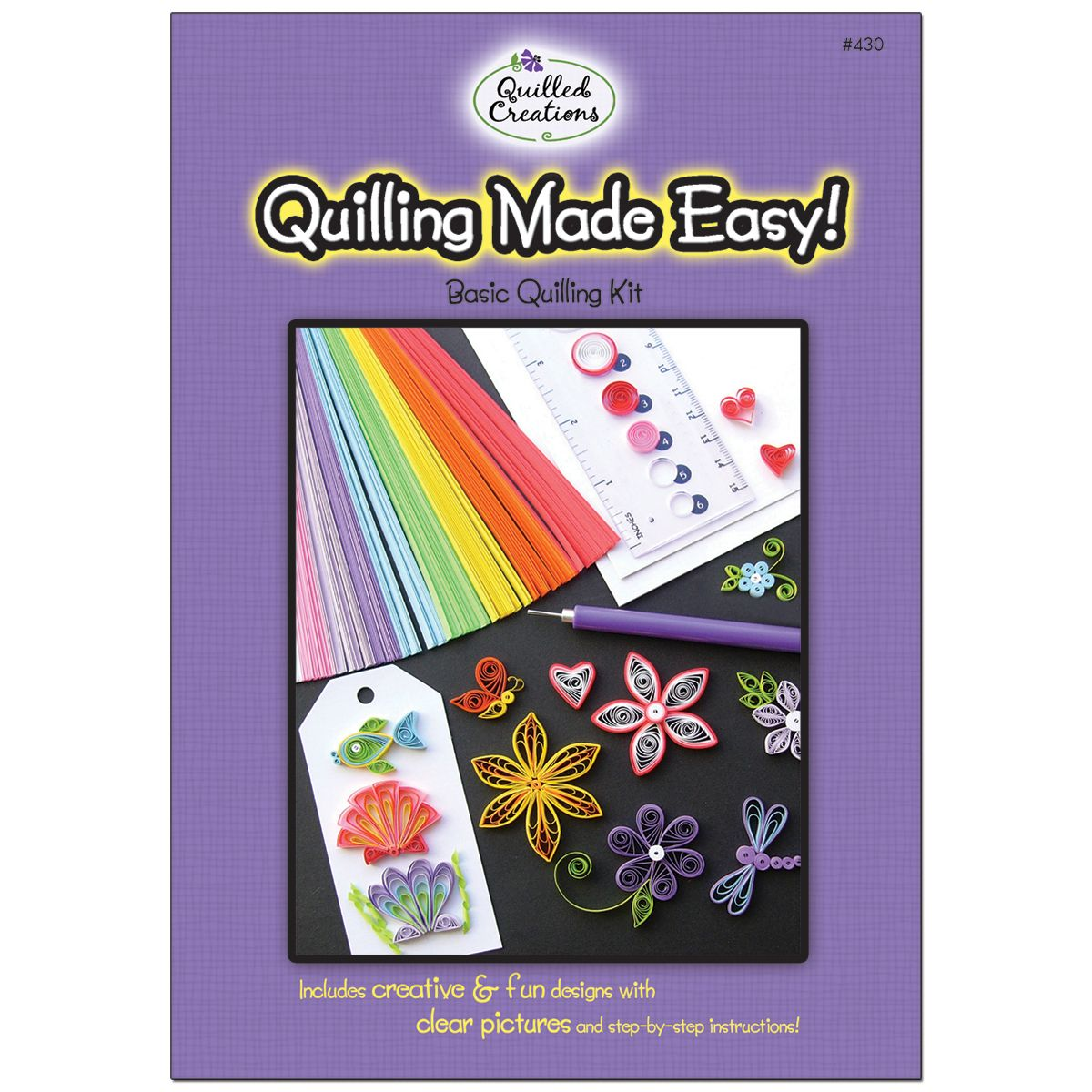 Quilling Kitquilling Quilled Creations Paper Kit Made Easy