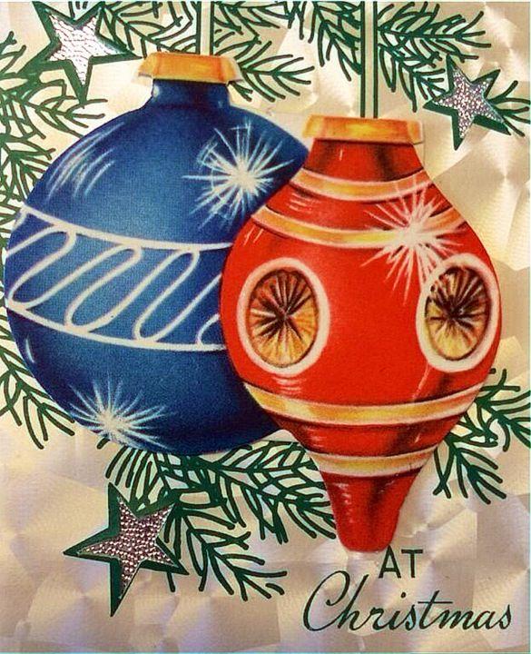 Christmas Shiny Brites.
