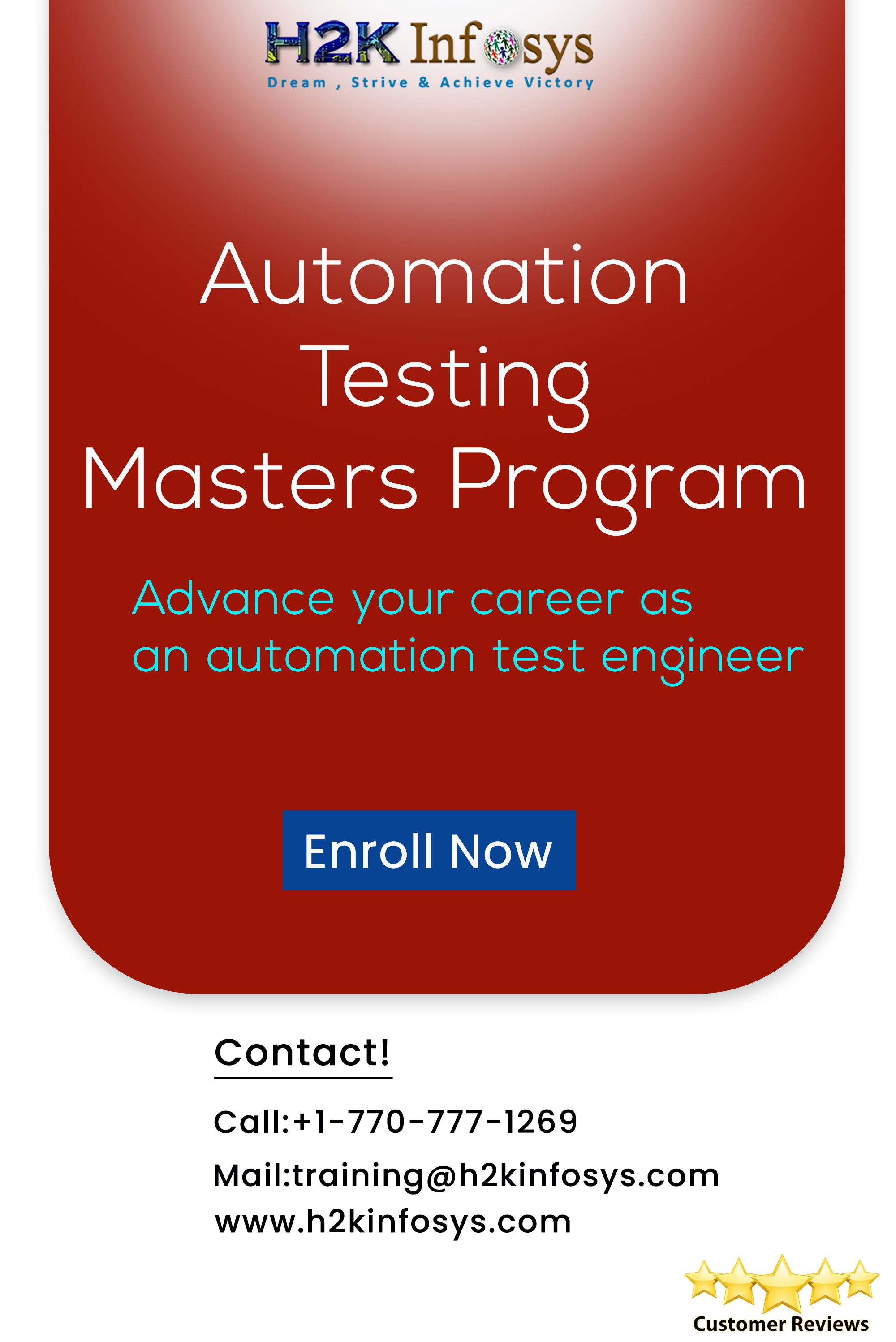 Selenium Automation Testing Courses Teaching Skills Online Training Train