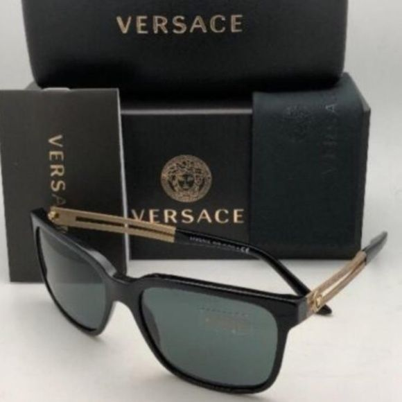 278149fae5 NWT Authentic Mens Versace VE4307 Sunglasses New with tags