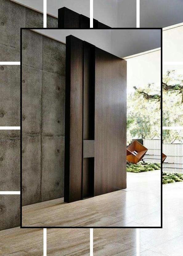 Photo of Inngangsdørdesign | Innvendige tredører til salgs | Innvendige tredører med …