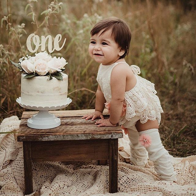 Photo of Rustic baby girl lace romper, 1st birthday lace chic Baby girls boho outfit, Boho girl outfit,Rustic baby girl PEACH lace bubble romper