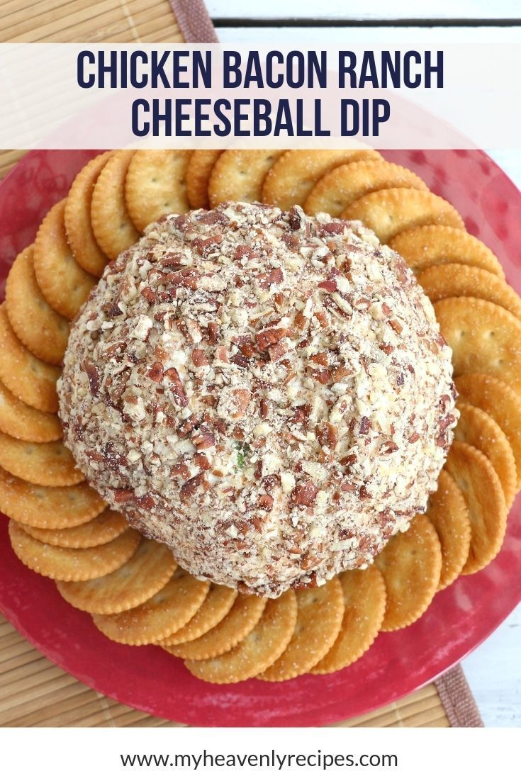 Chicken Cheese Ball with Bacon and Ranch Recipe Chicken Cheese Ball with Bacon and Ranch Recipe A M