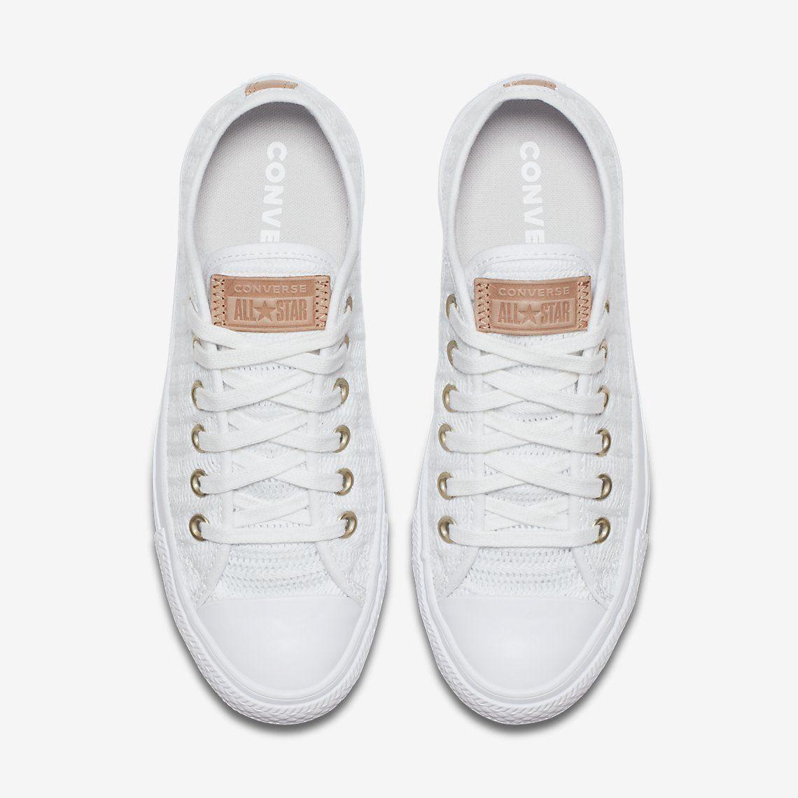 f3dcc5cabb5 Converse Chuck Taylor All Star Herringbone Mesh Low Top Women s Shoe.  Nike.com