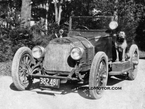 1914 Mercer L-Head Raceabout.  photo circa 1924