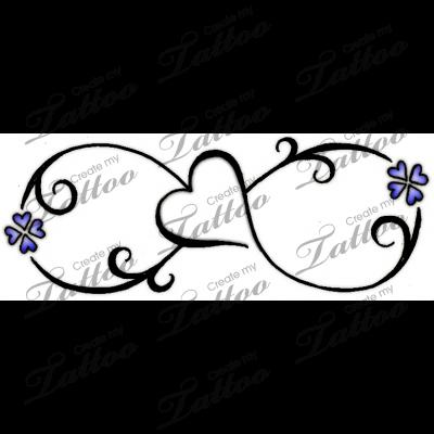 Marketplace Tattoo Infinity Love Symbol Tattoo 13784