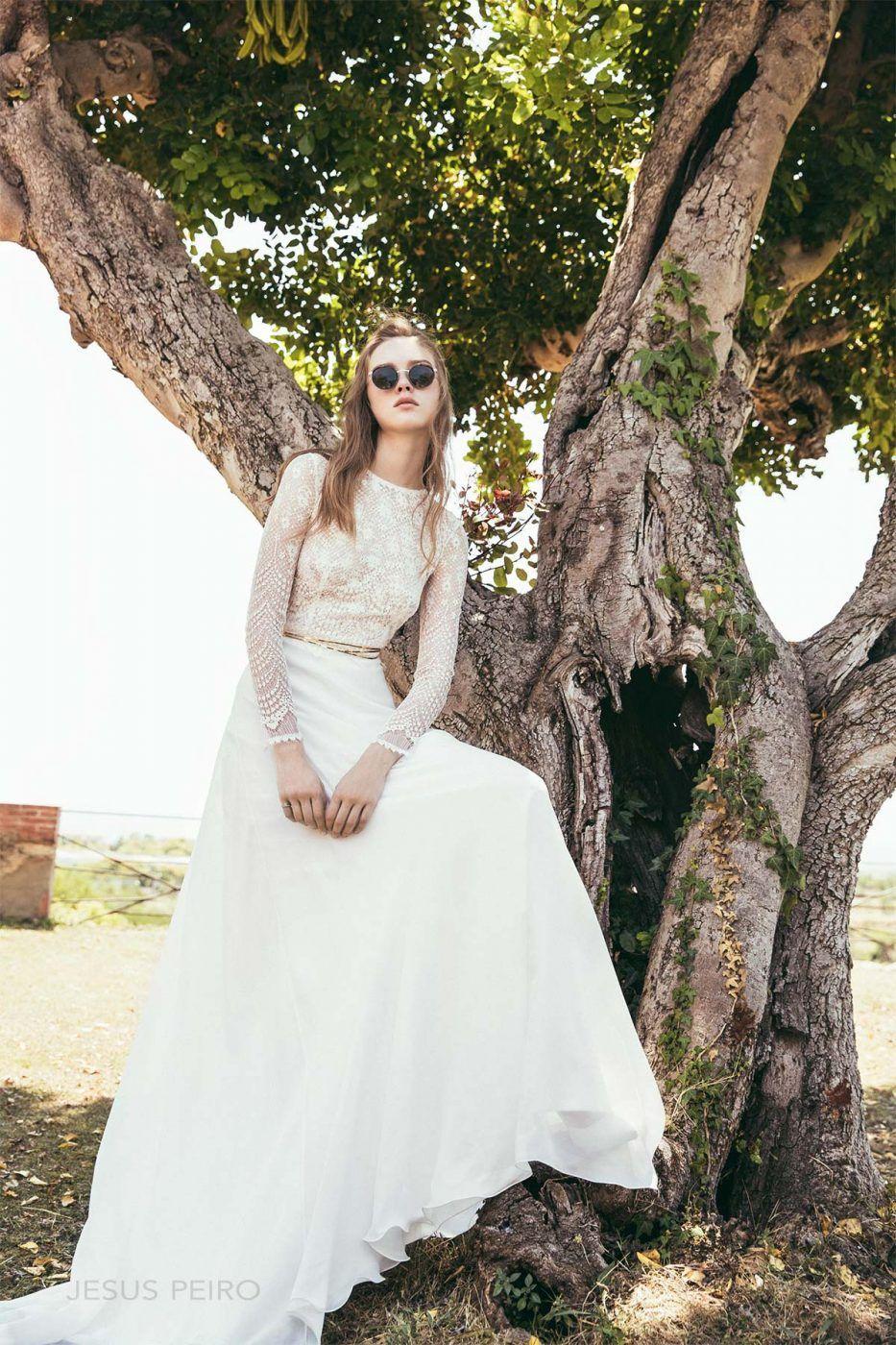 Style 8025 By Jesus Peiro Metropolis Collection 2018 Jenny Packham Bridal Wedding Dresses: Smoking Brides Wedding Dress At Websimilar.org