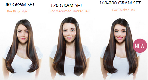 Deluxe clip in hair extensions more volume victoria hair deluxe clip in hair extensions more volume pmusecretfo Gallery
