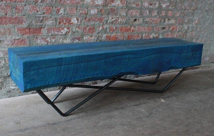 Meubles design qui sortent des sentiers battus par Joyau! - meuble en bois repeint