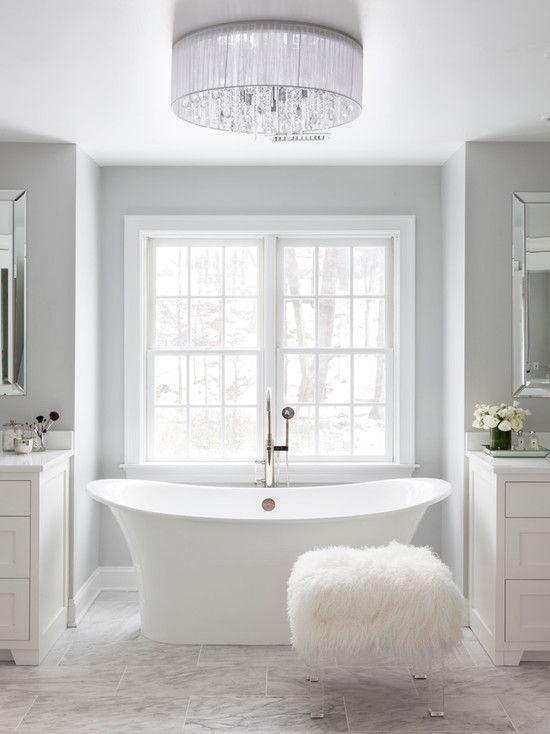 Grey marble bathroom Dream Home Pinterest Grey bathrooms