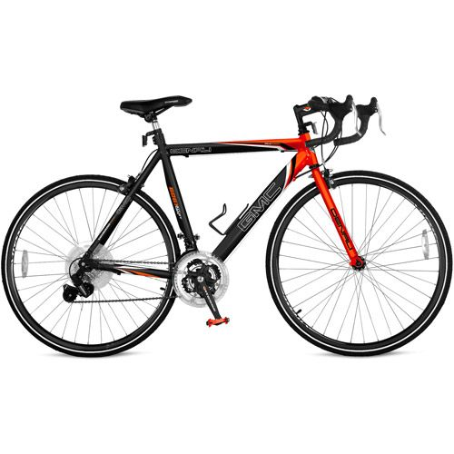 Walmart 25 Gmc Denali 700c Men S Road Bike Black Gmc Denali Road Bicycle Bikes Road Bikes Men