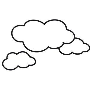 Awesome Shape Of Clouds Coloring Page 300x300 Jpg 300 300