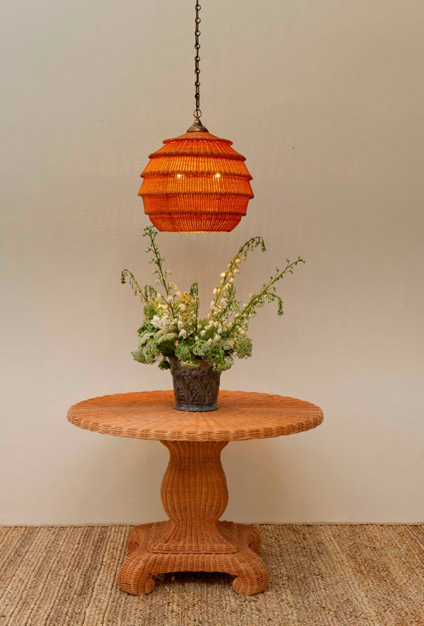 The Mortimer Table and The Armadillo Hanging Light ...