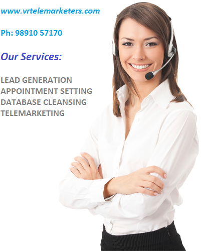 Vrtelemarketers have a team of professional for telesales