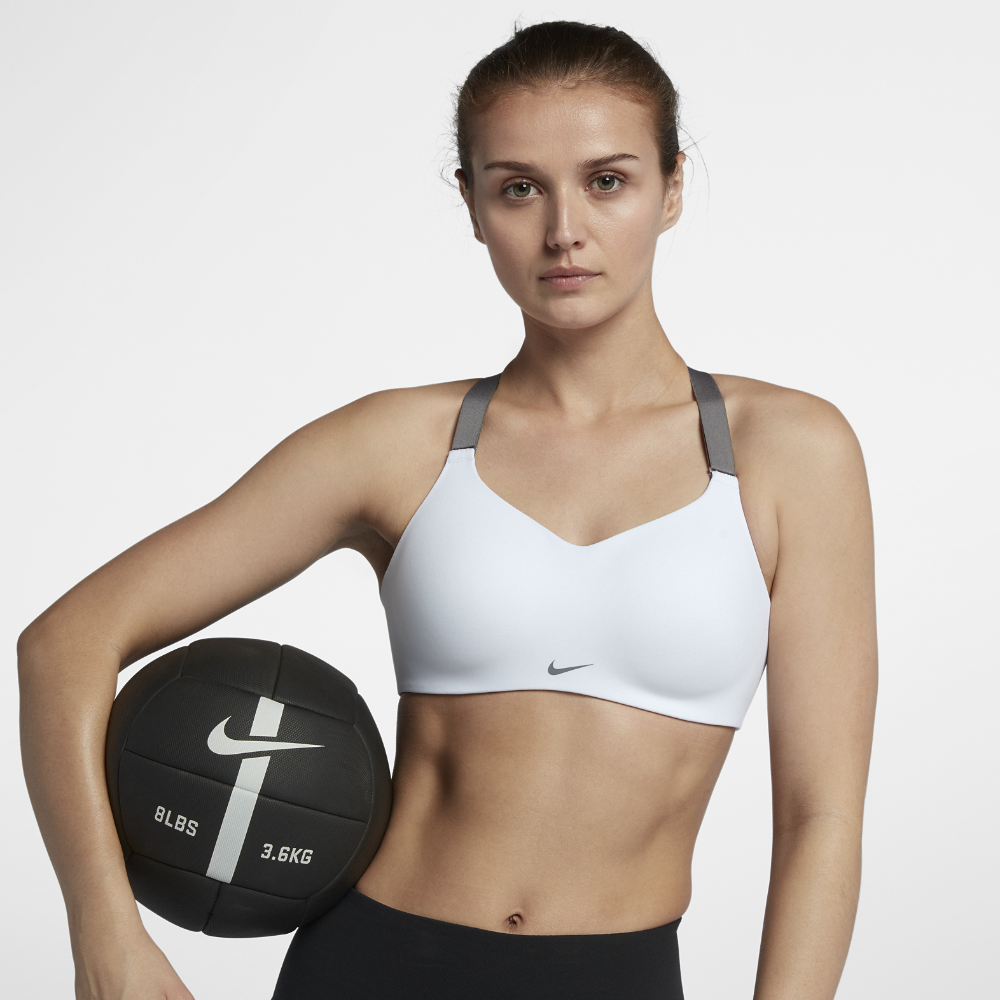 64ffb73d7d Nike Studio Women's Sports Bra Size Medium (A-C) (White) | Products ...