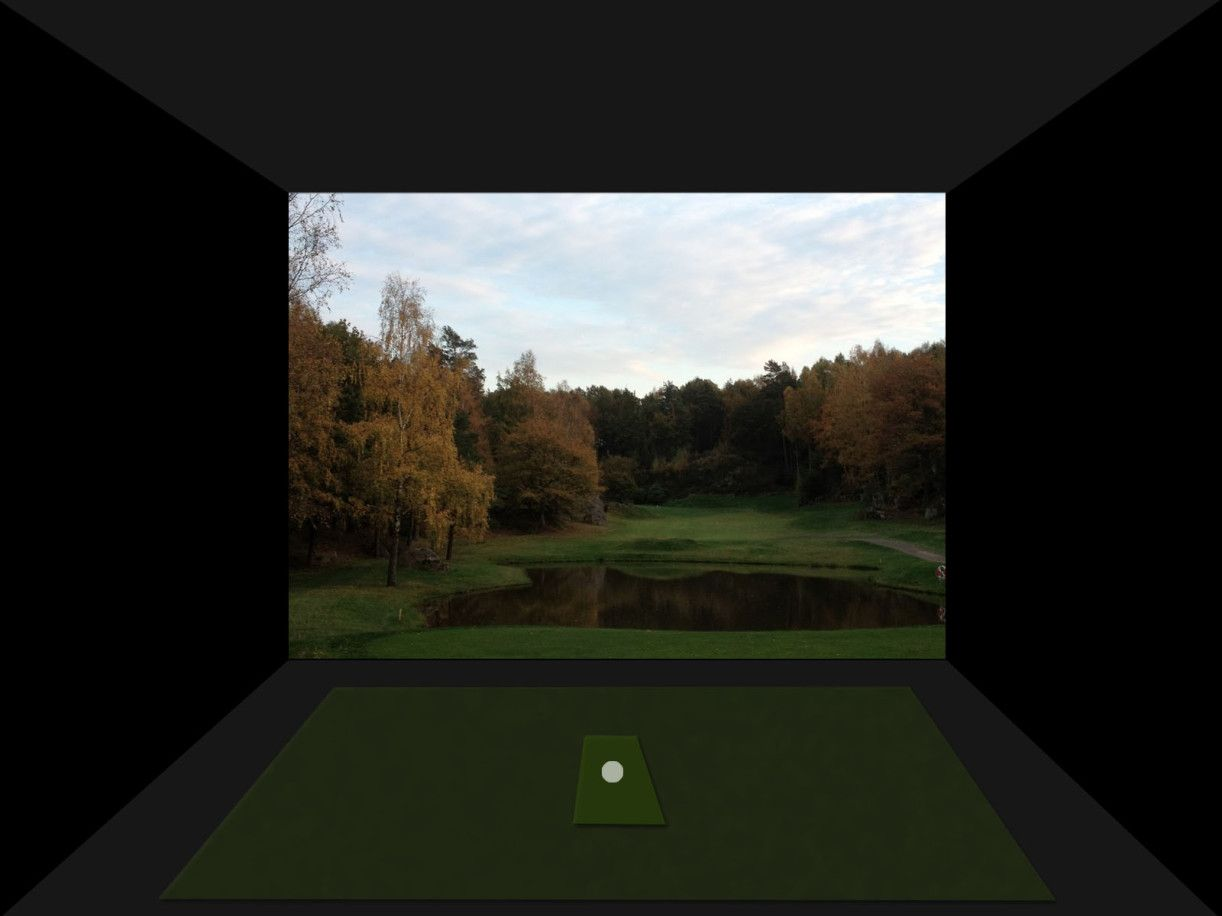 Buying your first golf simulator... This is a mockup I did for my perfect and best golf simulator. Read more about golf simulators or golf balls on my website. #golfsimulators #golf #simulators #mancave