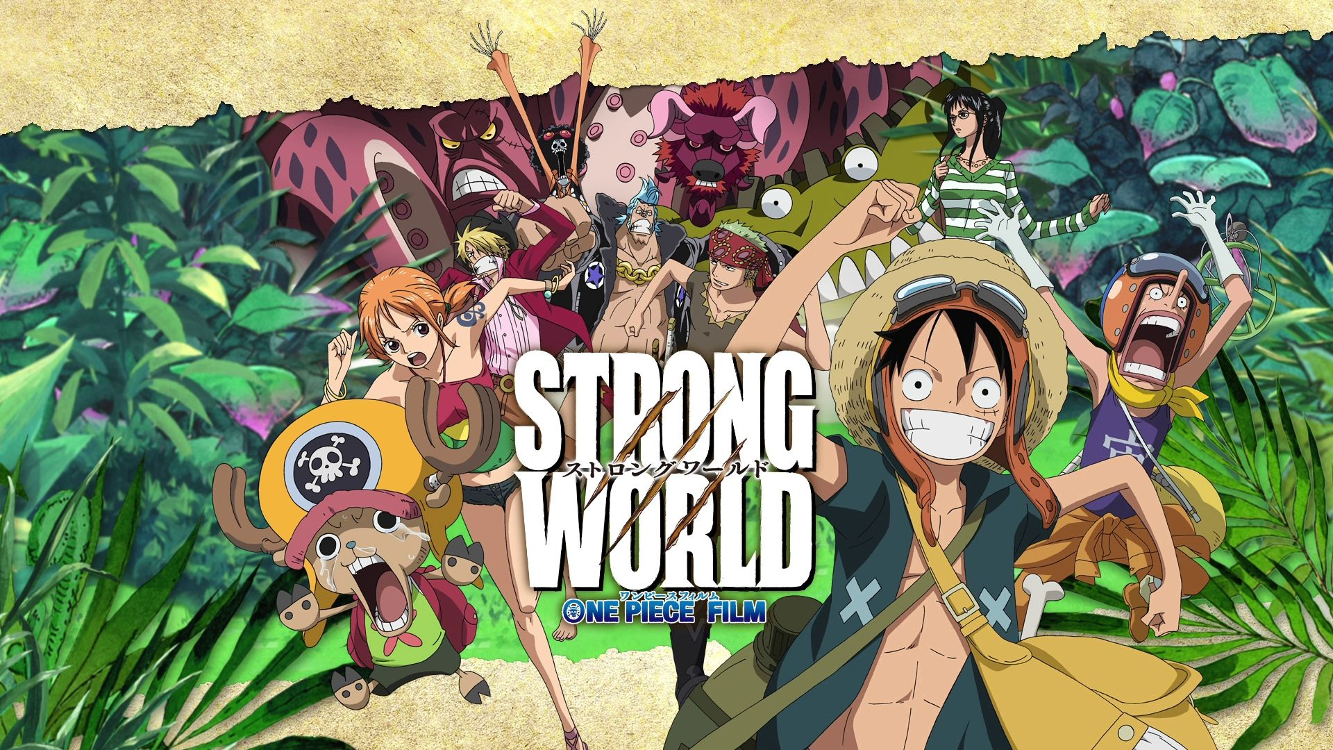 One Piece 1920x1080 8d Wallpaper HD One piece movies